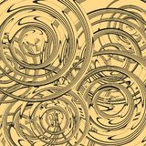 Abstract circles, image illustration circles for your design or printing place on a poster or wall royalty free illustration