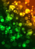 Abstract circles like digital bokeh effect Stock Photo