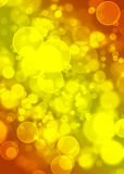 Abstract circles like digital bokeh effect. Abstract glowing circles on a colorful background like digital bokeh effect Royalty Free Stock Image