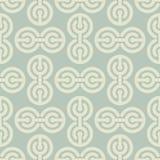 Abstract circles pattern. Geometric  ornament. Retro fabri. C texture Royalty Free Stock Image