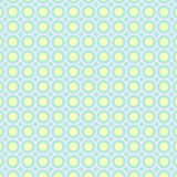 Abstract circles pattern pastel background. Vector illustration Stock Images