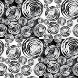 Abstract Circles Seamless Background Stock Photo