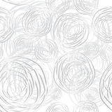 Abstract circles seamless background Stock Images