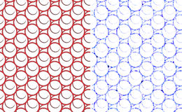 Abstract circles seamless pattern Royalty Free Stock Images