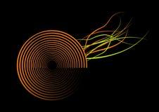 Abstract circles. vector Royalty Free Stock Photo