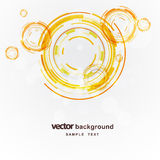 Abstract circles vector background Royalty Free Stock Photography