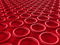 Abstract Circles Wallpeper Pattern Background. 3d Render Illustration Royalty Free Stock Images