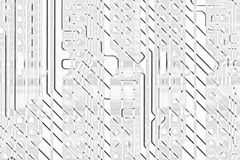 Abstract circuit board background Royalty Free Stock Photos