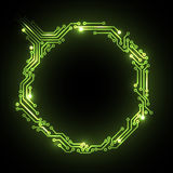 Abstract circuit board background Royalty Free Stock Photo