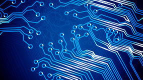 Abstract circuit board. Royalty Free Stock Images