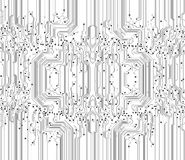 Abstract circuit board texture background
