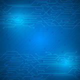 Abstract circuit digital texture pattern innovation design background. EPS 10 vector Stock Photography