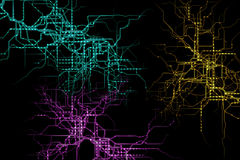 Abstract circuit Royalty Free Stock Photo