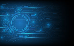 Abstract circuit pattern futuristic technology design background Royalty Free Stock Photos