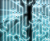Abstract circuitry Royalty Free Stock Images