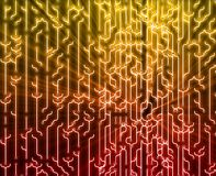 Abstract circuitry Stock Image