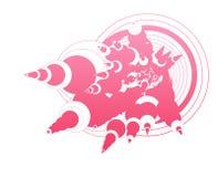 abstract circular Διανυσματική απεικόνιση