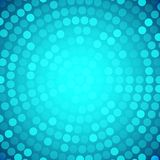 Abstract Circular Blue Background. Royalty Free Stock Images