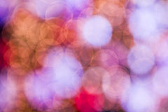 Abstract circular bokeh background Stock Photography