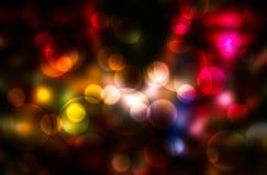 Abstract circular bokeh background. Multicolor stock photos