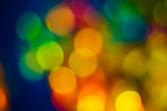 Abstract circular bokeh background Royalty Free Stock Photography