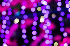 Abstract circular bokeh. Background of Christmas light Royalty Free Stock Photography