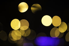 Abstract circular bokeh background Stock Photos