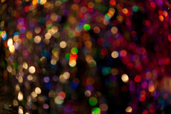 Abstract circular bokeh Royalty Free Stock Photos