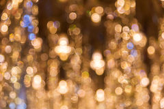 Abstract circular bokeh for background Royalty Free Stock Photo
