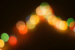 Abstract circular bokeh background Royalty Free Stock Images