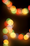 Abstract circular bokeh background Royalty Free Stock Image