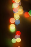 Abstract circular bokeh background Royalty Free Stock Photo