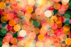 Abstract circular bokeh. Background of light Stock Image