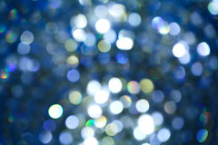 Abstract circular bokeh Stock Photo