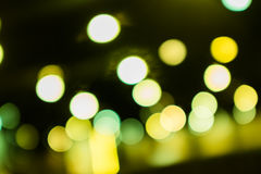 Abstract circular bokeh background. Light Royalty Free Stock Images