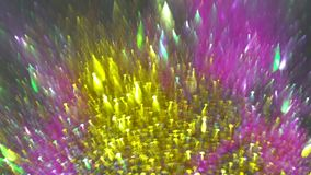 Abstract circular bokeh background view of colorful lights of Christmas royalty free stock photos