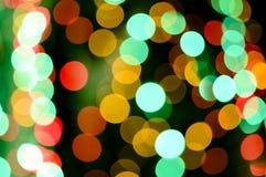 Abstract circular bokeh light background Royalty Free Stock Image