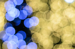 Abstract circular bokeh light background Stock Photography
