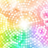 Abstract circular colorful background. Vector illustration for your design Stock Photography