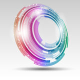 Abstract circular design. Abstract background with a circular design Royalty Free Stock Image