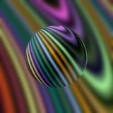 Abstract circular fractal pattern Stock Photo