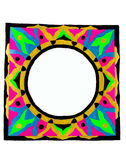 Abstract circular frame Royalty Free Stock Photo