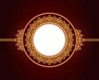 Abstract circular frame design Royalty Free Stock Image
