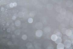 Abstract circular gray bokeh Royalty Free Stock Photo