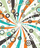 Abstract circular illustration raster design Stock Photos