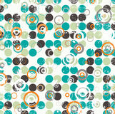 Abstract Circular Illustration Raster Design Royalty Free Stock Images
