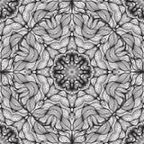 Abstract  circular lace. Royalty Free Stock Photos