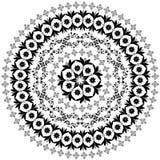 Abstract circular pattern of arabesques Royalty Free Stock Photos