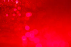 Abstract circular red bokeh Stock Photography