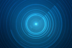Abstract circular science fiction futuristic background Royalty Free Stock Image